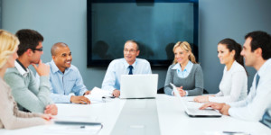 A large cheerful group of successful businesspeople on a meeting in the office.    [url=http://www.istockphoto.com/search/lightbox/9786622][img]http://dl.dropbox.com/u/40117171/business.jpg[/img][/url]